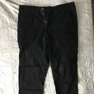Men's Black Jogger Chinos